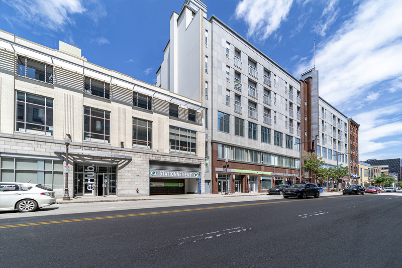 Charest Boulevard East, Office, residential, retail